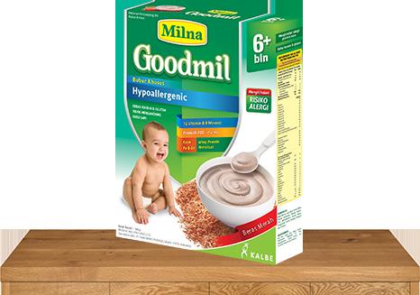 milna bubur bayi goodmil 6 bulan beras merah