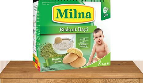 milna biskuit bayi 6 bulan kacang hijau