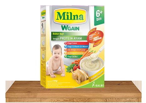 milna bubur bayi wgain 6 bulan ayam sayur
