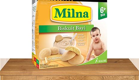 milna biskuit bayi 6 bulan original
