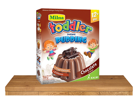 milna pudding toddler 12 bulan chocolate