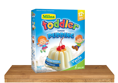 milna pudding toddler 12 bulan vanilla