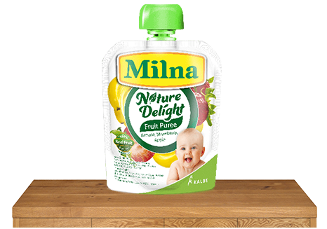 milna nature delight banana strawberry apple