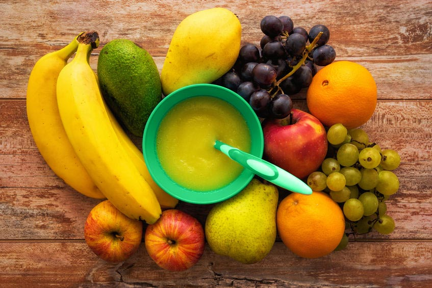 Fruit Puree is the Perfect Complementary Food. Here's Why.